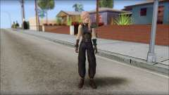 Final Fantasy XIII - Lightning Lowpoly para GTA San Andreas