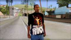 WWE The Rock T-Shirt para GTA San Andreas