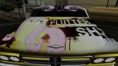 Trabajos de pintura para Slamvan MLP Fluttershy