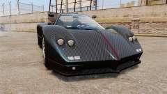 Pagani Zonda C12S Roadster 2001 v1.1 PJ3 para GTA 4
