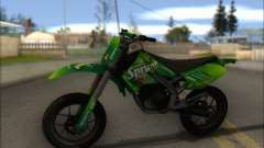 Sanchez from GTA V - Supermoto para GTA San Andreas
