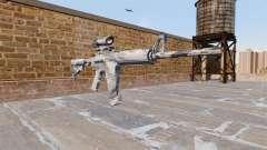 Automático carabina MA Gris de la caña de Camo para GTA 4