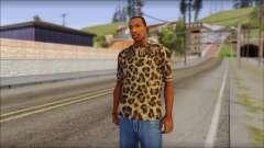 Tiger Skin T-Shirt Mod para GTA San Andreas