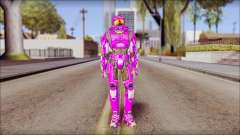 Masterchief Purple from Halo para GTA San Andreas