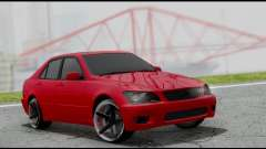 Lexus IS300 Vossen para GTA San Andreas