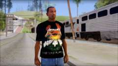 Metallica Master Of Puppets T-Shirt para GTA San Andreas