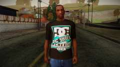 DC Shoes USA T-Shirt para GTA San Andreas