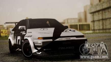 Toyota Corolla AE86 SHIFT2 para GTA San Andreas