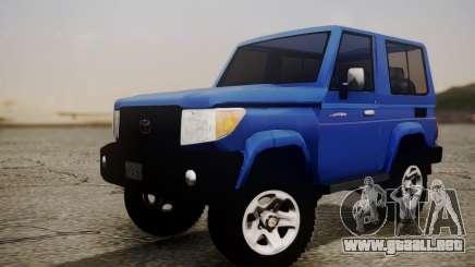 Toyota FJ70 2011 para GTA San Andreas