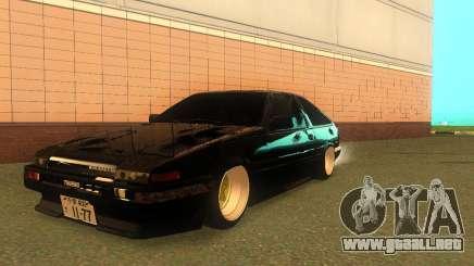 Toyota Corolla AE86 Trueno JDM para GTA San Andreas