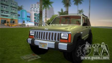 Jeep Cherokee v1.0 BETA para GTA Vice City