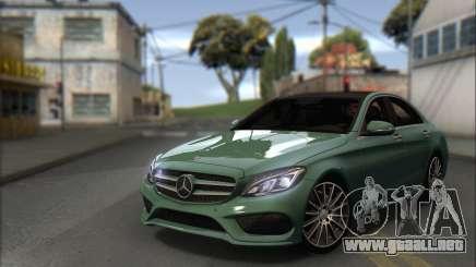 Mercedes-Benz C250 V1.0 2014 para GTA San Andreas