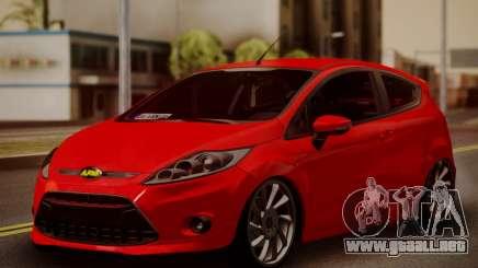 Ford Fiesta Turkey Drift Edition para GTA San Andreas