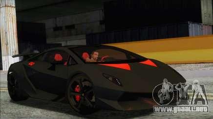 Lamborghini Sesto Elemento Concept 2010 para GTA San Andreas