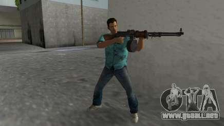 Degtyaryov del Manual de la Ametralladora para GTA Vice City