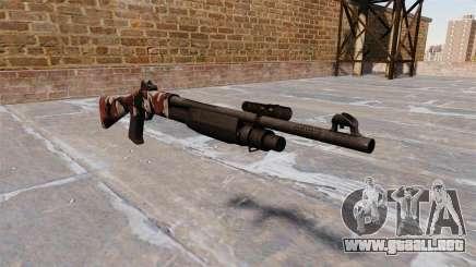 Ружье Benelli M3 Super 90 inyectados de sangre. para GTA 4
