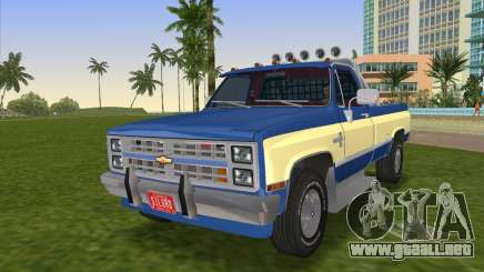 Chevrolet Silverado K-10 2500 1986 para GTA Vice City