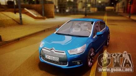 Citroen DS4 2012 para GTA San Andreas