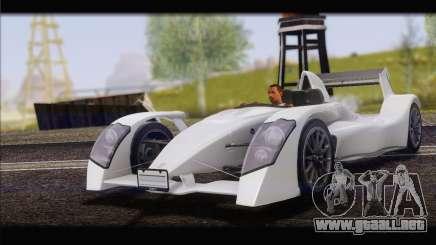 Caparo T1 2012 para GTA San Andreas