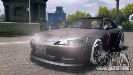 Nissan Silvia S15 Street Drift para GTA 4