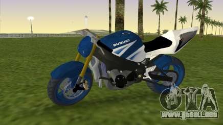 Suzuki GSX-R 1000 StreetFighter para GTA Vice City