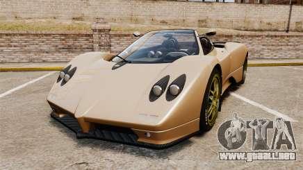 Pagani Zonda C12S Roadster 2001 v1.1 para GTA 4