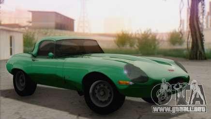 Jaguar E-Type para GTA San Andreas