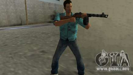 Submachine Gun Shpagina para GTA Vice City