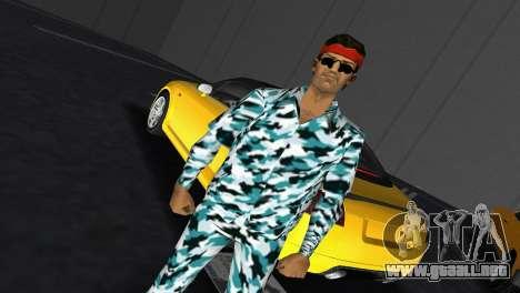 Camo Skin 10 para GTA Vice City tercera pantalla