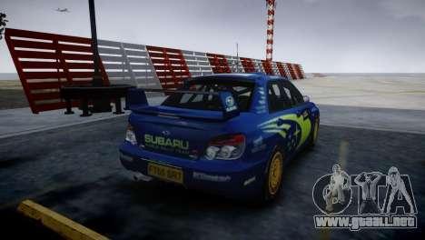 Subaru Impreza STI Group N Rally Edition para GTA 4 left