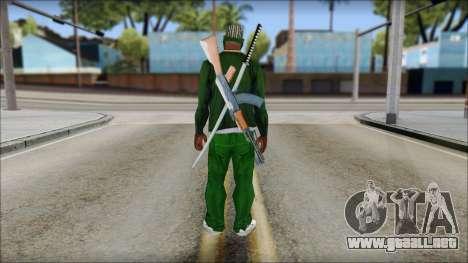 New CJ v5 para GTA San Andreas segunda pantalla