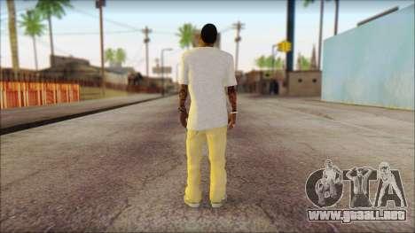 New Grove Street Family Skin v4 para GTA San Andreas segunda pantalla