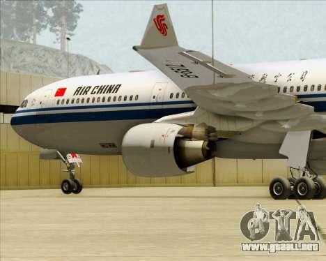 Airbus A330-300 Air China para el motor de GTA San Andreas