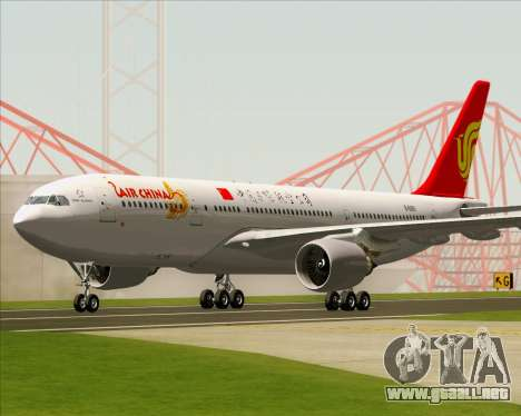 Airbus A330-200 Air China para GTA San Andreas left