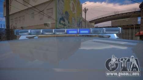 Mercedes-Benz GL450 AMG Police Interceptor 2013 para GTA 4 vista hacia atrás