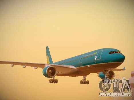Airbus A330-200 Vietnam Airlines para GTA San Andreas left