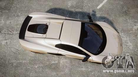 McLaren 650S Spider 2014 [EPM] Bridgestone v1 para GTA 4 visión correcta