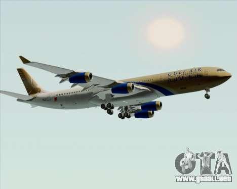 Airbus A340-313 Gulf Air para visión interna GTA San Andreas