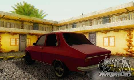Dacia 1300 Stock 1979 para la visión correcta GTA San Andreas
