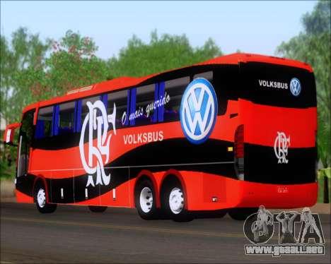 Busscar Elegance 360 C.R.F Flamengo para la visión correcta GTA San Andreas