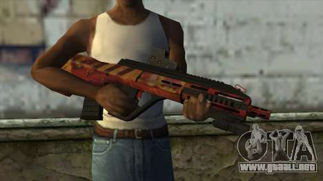 AUG A3 from PointBlank v4 para GTA San Andreas tercera pantalla