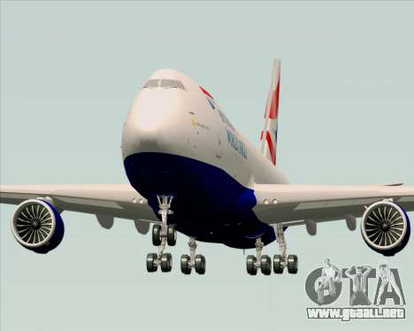 Boeing 747-8 Cargo British Airways World Cargo para la visión correcta GTA San Andreas