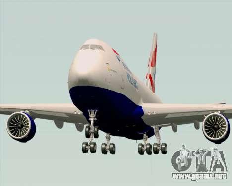 Boeing 747-8 Cargo British Airways World Cargo para la visión correcta GTA San Andreas