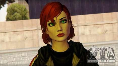 Mass Effect Anna Skin v10 para GTA San Andreas tercera pantalla