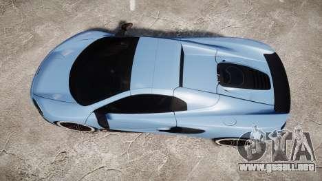 McLaren 650S Spider 2014 [EPM] Michelin v3 para GTA 4 visión correcta