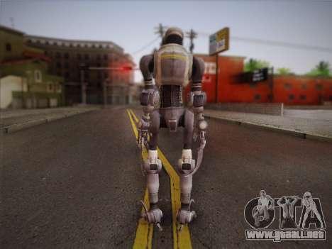 Mouser Human para GTA San Andreas segunda pantalla