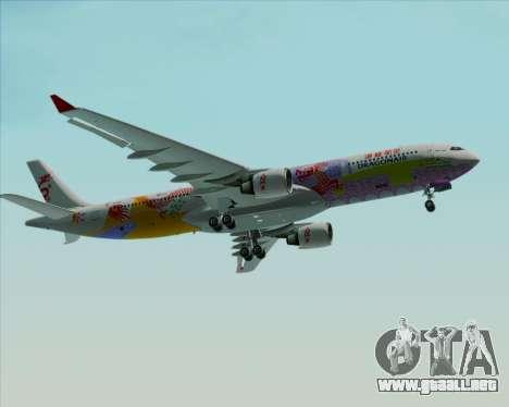 Airbus A330-300 Dragonair (20th Year Livery) para la vista superior GTA San Andreas