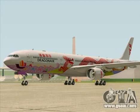 Airbus A330-300 Dragonair (20th Year Livery) para GTA San Andreas left