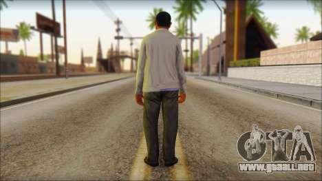 GTA 5 Ped 10 para GTA San Andreas segunda pantalla