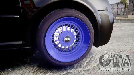 Volkswagen Golf Mk4 R32 Wheel1 para GTA 4 vista hacia atrás